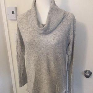Calvin Klein soft gray sweater